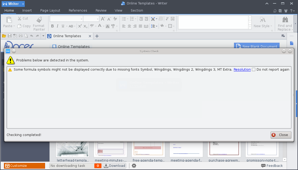 WPS Office on Arch Linux with KDE – pikedom com