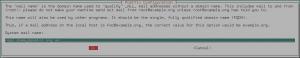 Postfix - enter FQDN
