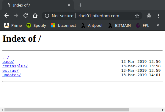 Host your Own Yum Repository – pikedom com